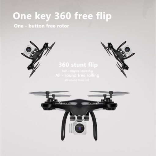 HobbyLane RC Drone Wi Fi Remote Control Aerial Photography Drone HD Camera 200W Pixel UAV Gift 5
