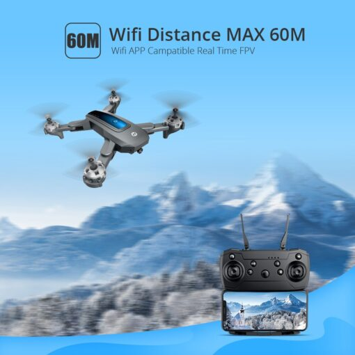 Holy Stone HS240 4K Drone HD Camera Profesional Foldable RC Dron Quadrocopter Quadcopter Drone 200MP 720P 5