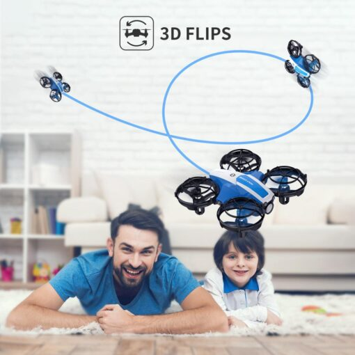 Holy Stone HS330 Hand Operated Mini Drone for kids Remote Control Quadcopter with Altitude Hold Throw 4