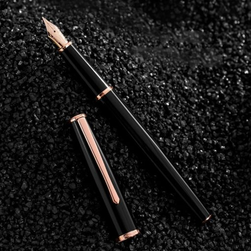 Hongdian fountain pen boys ladies retro high end practice calligraphy 920 gold star school office business 1