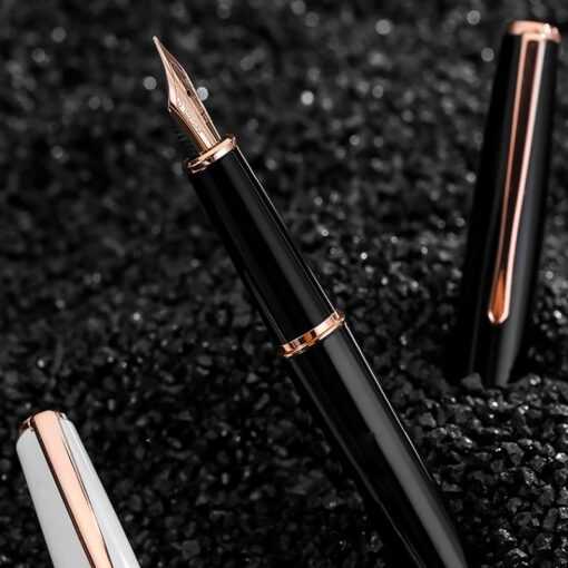 Hongdian fountain pen boys ladies retro high end practice calligraphy 920 gold star school office business 2