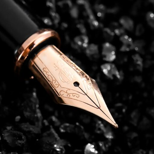 Hongdian fountain pen boys ladies retro high end practice calligraphy 920 gold star school office business 4