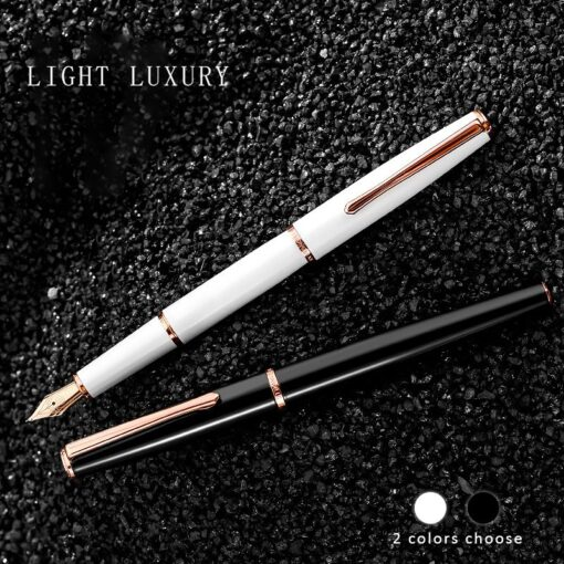 Hongdian fountain pen boys ladies retro high end practice calligraphy 920 gold star school office business