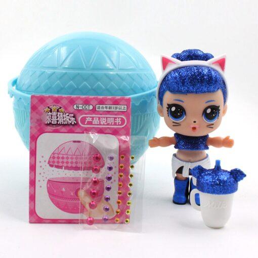 Hot 1pc Eaki Original Lol Reborn Doll Children Puzzle Toy Kids Funny DIY Toys Princess Doll 1