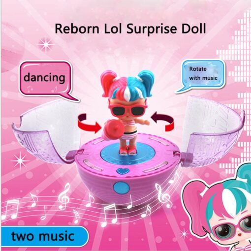 Hot 1pc Eaki Original Lol Reborn Doll Children Puzzle Toy Kids Funny DIY Toys Princess Doll 3