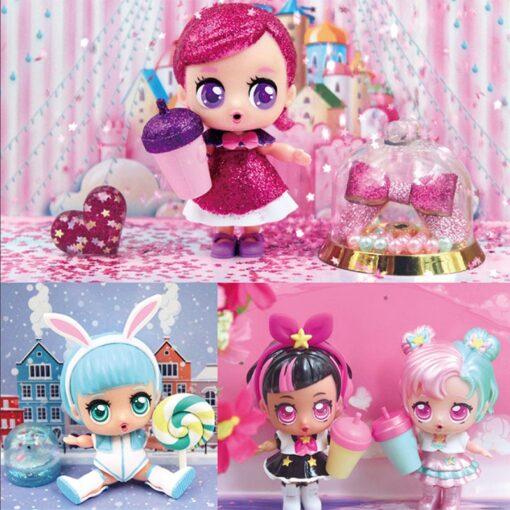 Hot 1pc Eaki Original Lol Reborn Doll Children Puzzle Toy Kids Funny DIY Toys Princess Doll 4