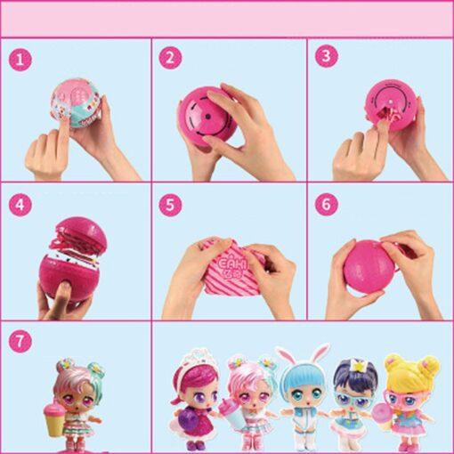 Hot 1pc Eaki Original Lol Reborn Doll Children Puzzle Toy Kids Funny DIY Toys Princess Doll 5