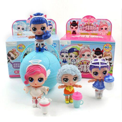 Hot 1pc Eaki Original Lol Reborn Doll Children Puzzle Toy Kids Funny DIY Toys Princess Doll