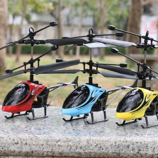 Hot Mini QF810 2CH RC Helicopter Suspension Toy With LED Light For Clildren Birthday Christmas Gift 1