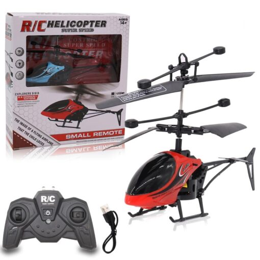 Hot Mini QF810 2CH RC Helicopter Suspension Toy With LED Light For Clildren Birthday Christmas Gift