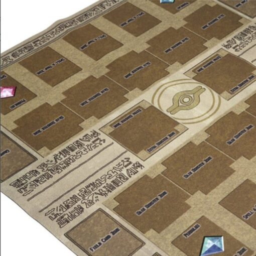 Hot Sale 60x60cm Rubber Play Mat Egypt Mural Style Competition Pad For Yu gi oh Card 2