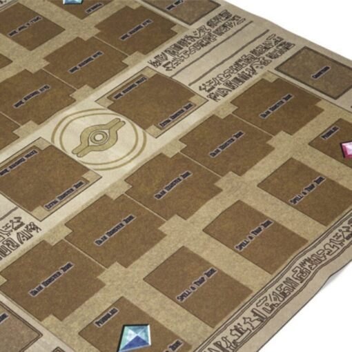 Hot Sale 60x60cm Rubber Play Mat Egypt Mural Style Competition Pad For Yu gi oh Card 3
