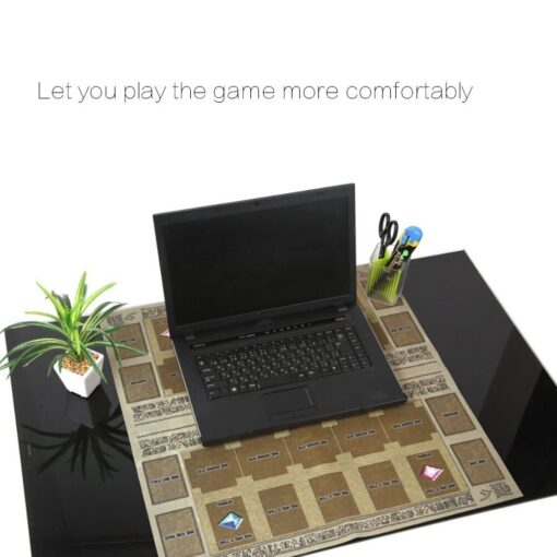 Hot Sale 60x60cm Rubber Play Mat Egypt Mural Style Competition Pad For Yu gi oh Card