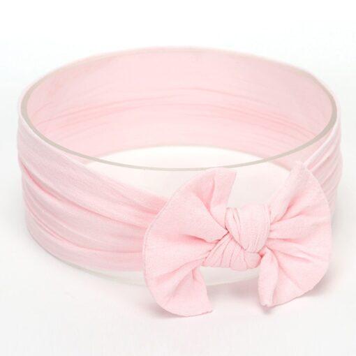 Hot Sale Cute Toddler Infant Baby Boys Girls Bowknot Headband Hairband Headwear Accessories Solid bandeau bebe 1