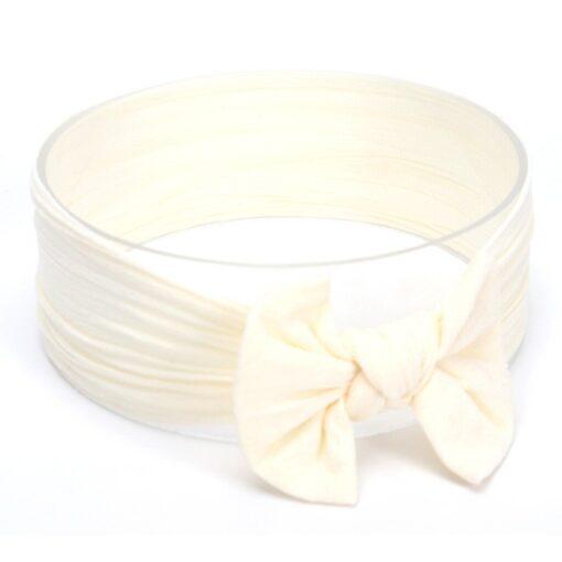 Hot Sale Cute Toddler Infant Baby Boys Girls Bowknot Headband Hairband Headwear Accessories Solid bandeau bebe 2