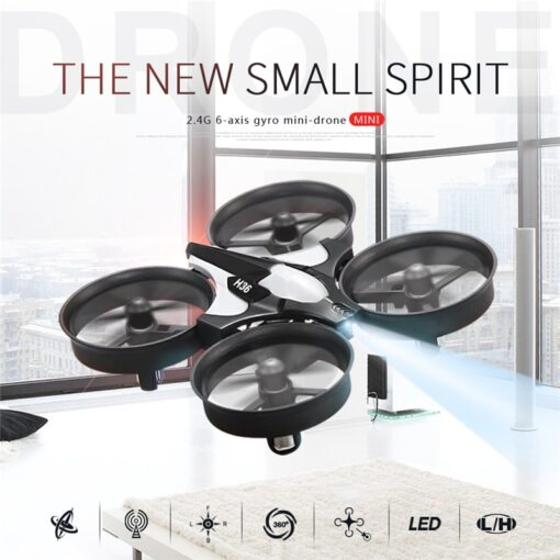 Hot Sale Mini Drone JJRC H36 RC Micro Quadcopters 2 4G 6 Axis With Headless Mode