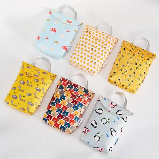 Hot Sale Multifunctional Baby Diaper Bags Reusable Fashion Waterproof Diaper Organizer Portable Big Capacity Mummy Bag 1