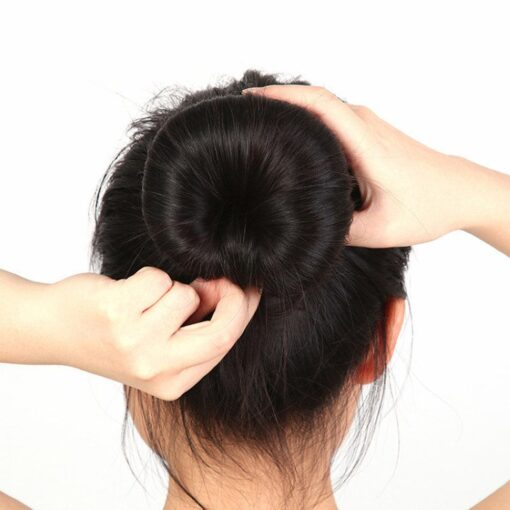 Hot fashion popular 4 Sizes Cute Baby Hair Styling Ring Style Dispenser Buns Head Tool Hair 4