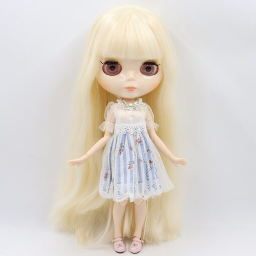 ICY Blyth doll No 1 glossy face white skin joint body 1 6 BJD special price 1
