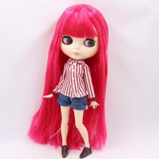 ICY Blyth doll No 1 glossy face white skin joint body 1 6 BJD special price 3