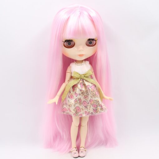 ICY Blyth doll No 1 glossy face white skin joint body 1 6 BJD special price 4