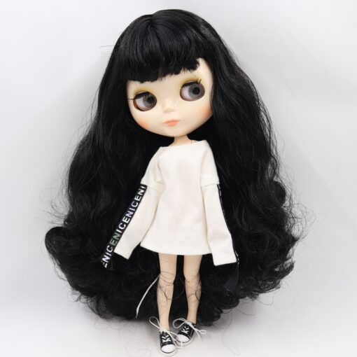 ICY Blyth doll No 1 glossy face white skin joint body 1 6 BJD special price 5