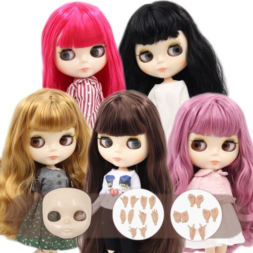 ICY Blyth doll No 1 glossy face white skin joint body 1 6 BJD special price