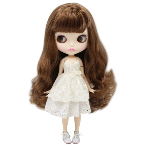 ICY Nude Blyth Doll Matte Face 8 kinds of hair color with big breast Joint body 2