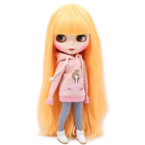ICY Nude Blyth Doll Matte Face 8 kinds of hair color with big breast Joint body 3