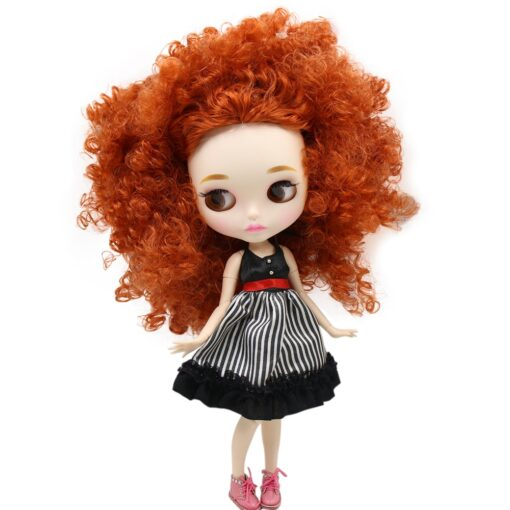 ICY Nude Blyth Doll Matte Face 8 kinds of hair color with big breast Joint body 4