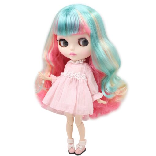 ICY Nude Blyth Doll Matte Face 8 kinds of hair color with big breast Joint body 5