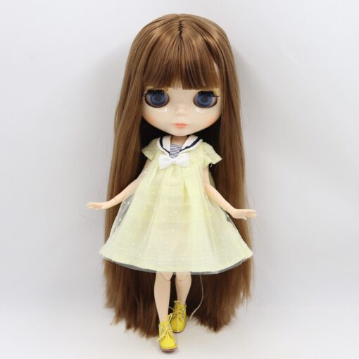 ICY factory Blyth doll 1 6 BJD customized nude joint body with white skin glossy face 2