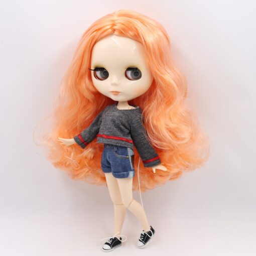 ICY factory Blyth doll 1 6 BJD customized nude joint body with white skin glossy face 3