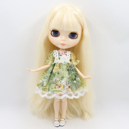ICY factory Blyth doll 1 6 BJD customized nude joint body with white skin glossy face 4
