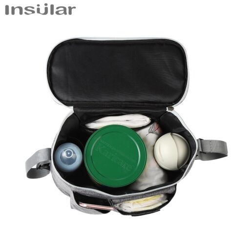 INSULAR Baby Stroller Bag Organizer Bottle Cup Holder Diaper Bags Maternity Nappy Bag Accessories for Portable 4