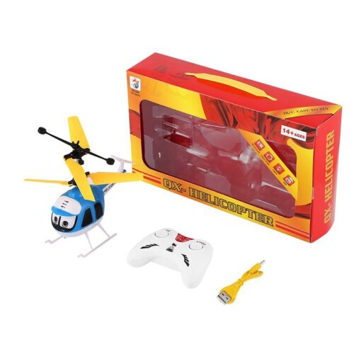 Induction Flying Toys RC Helicopter Cartoon Remote Control Drone For Kid Plane Floating Toys With Flashing 5