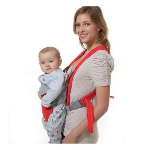 Infant Baby Kangaroo Backpack Carrier Ergonomic Baby Carrier Wrap Breathable Baby Sling Adjustable Comfort Infant Hipseat 2