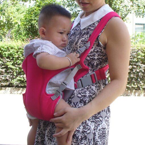 Infant Baby Kangaroo Backpack Carrier Ergonomic Baby Carrier Wrap Breathable Baby Sling Adjustable Comfort Infant Hipseat 3