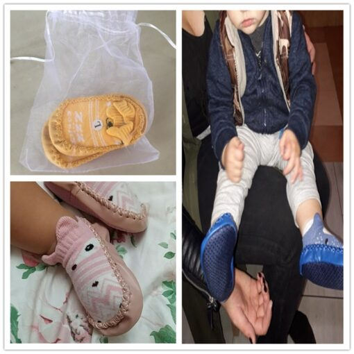 Infant Baby Socks With Rubber Soles Newborn Baby Girls Boys Shoes Autumn Baby Floor Socks Anti 5