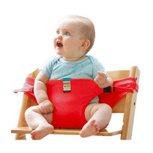 Infant Chair Portable Seat Wrap Dining Lunch Chair Seat Safety Belt Stretch Wrap Feeding Chair Harness 2