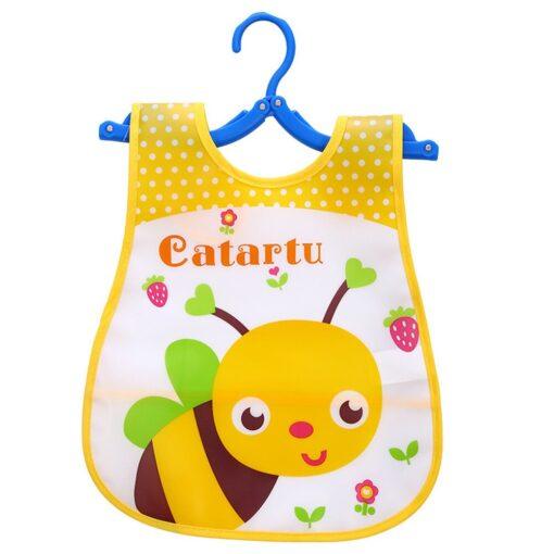 Infant Kid Infant Bibs Baby Soft Cartoon Bib Waterproof Saliva Dripping Bibs Burp Cloths Cartoon Eating 2