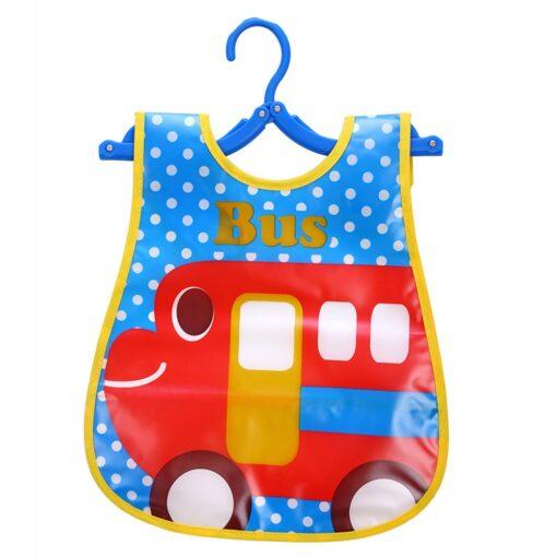 Infant Kid Infant Bibs Baby Soft Cartoon Bib Waterproof Saliva Dripping Bibs Burp Cloths Cartoon Eating 5