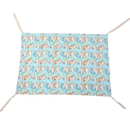 Infant baby hammock folding crib sleeping bed newborn Kid toddler elastic swing hammock with adjustable net 5