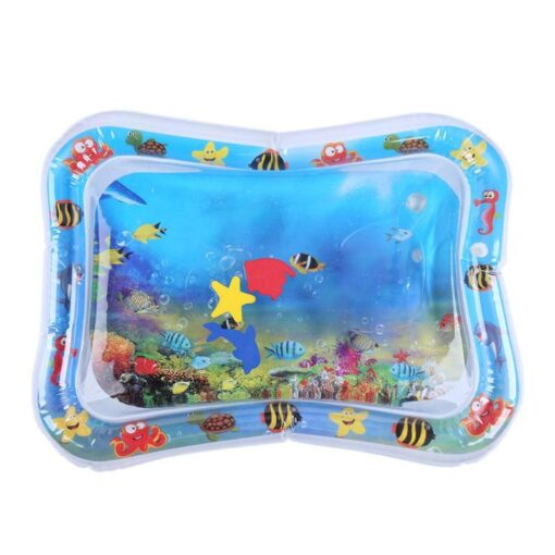 Infants Summer Beach Water Mat Toddler Fun Activity Play Toys for Motor Skills Necessary Baby Inflatable 3