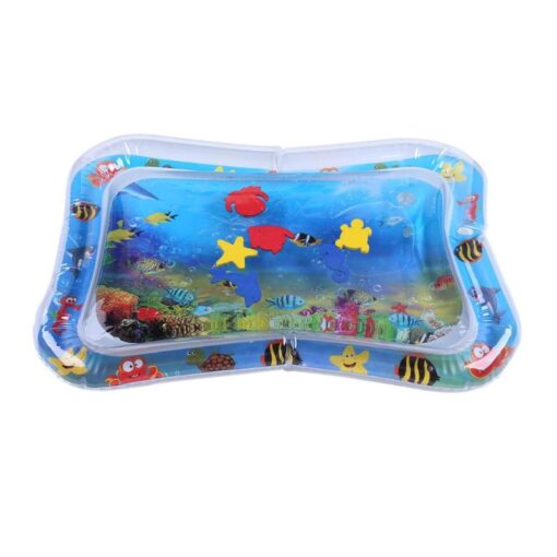 Infants Summer Beach Water Mat Toddler Fun Activity Play Toys for Motor Skills Necessary Baby Inflatable 4