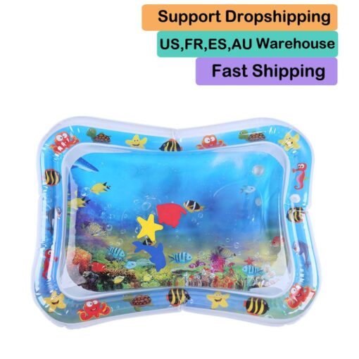 Infants Summer Beach Water Mat Toddler Fun Activity Play Toys for Motor Skills Necessary Baby Inflatable 6