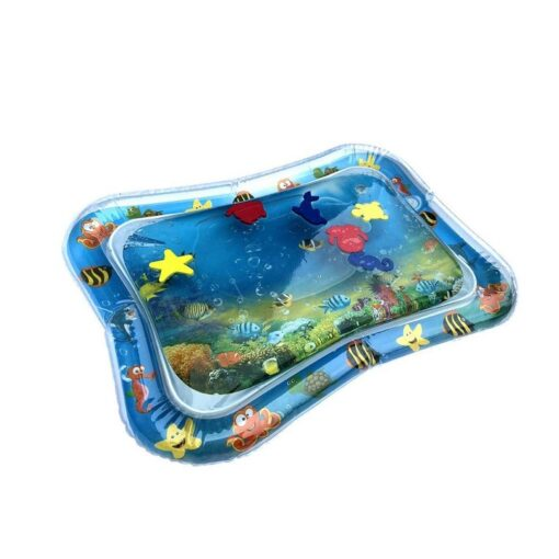 Inflatable Baby Water Mat Fun Activity Play Center for Children Infants 2