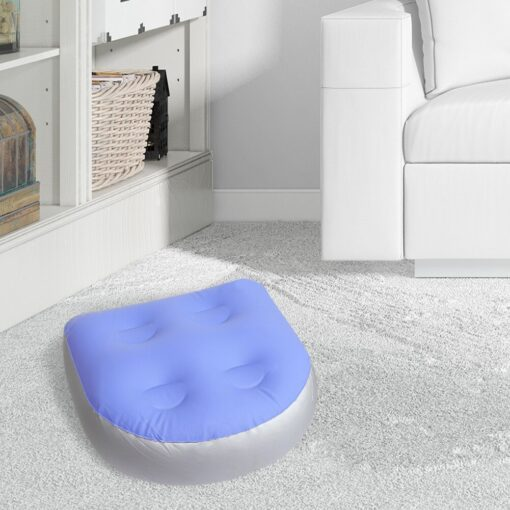 InflatableTub Cushion Multifunctional Spa Booster Seat With Suction Cup Cushion Baby Bath Mat Pad For Adults 3
