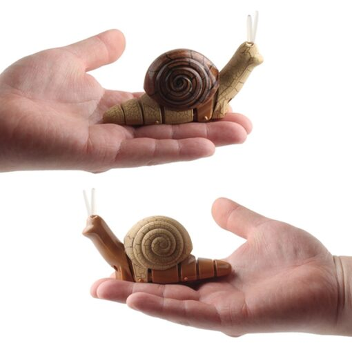 Infrared Remote Control Strange New Product Infrared Remote Control Small Snail Lamp With Light Electric Insect 2