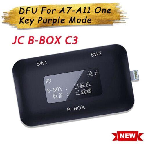 JC B BOX C3 DFU For A7 A11 One Key Purple Mode for iPhone iPad Modify